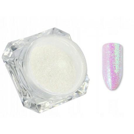 Mermaid Powder - efekt syrenki różowy - opalizujący pyłek do zdobień 1 g