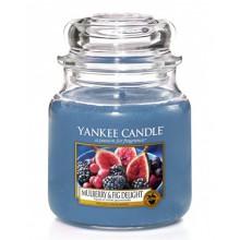 Yankee-Candle-Mulberry-and-fig-delight-słoik-mały-świeca-zapachowa-drogeria-internetowa-puderek.com.pl