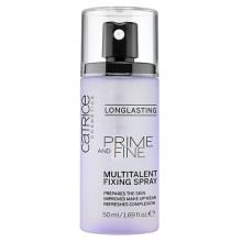 Catrice Prime And Fine Multitalent Fixing Spray ultrwalacz makijażu w spray'u 50 ml