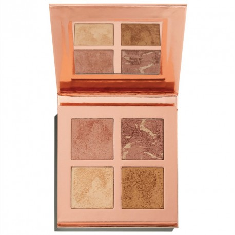 Makeup Revolution Face Quad Ignite - paleta rozświetlaczy
