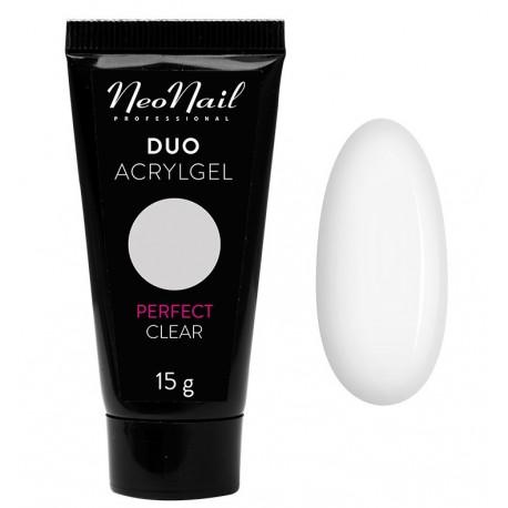 Neonail Duo Acrylgel Perfect Clear - akrylożel do przedłużania paznokci 15 g