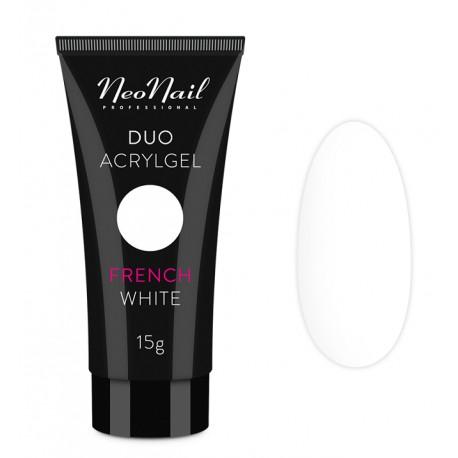 Neonail Duo Acrylgel French White - akrylożel do przedłużania paznokci 15 g