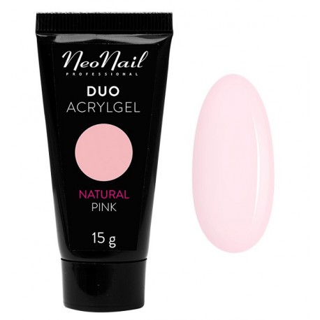 Neonail Duo Acrylgel Natural Pink - akrylożel do przedłużania paznokci 15 g