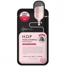 Mediheal-H.D.P-Pore-Stamping-Black-Mask-maska-w-płacie-kosmetyki-koreańskie-puderek.com.pl