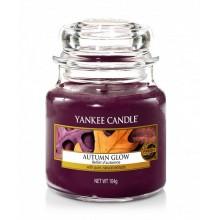 Yankee-Candle-Autumn-Glow-słoik-mały-świeca-zapachowa-drogeria-internetowa-puderek.com.pl