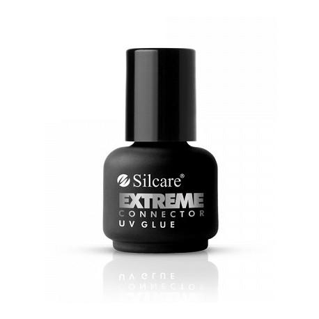 Silcare Extreme Connector UV Glue - klej UV do hybryd, żelu i akrylożelu 15 ml