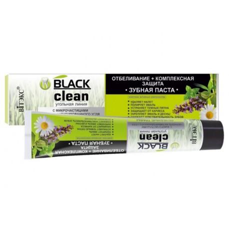 Belita pasta do zębów z węglem aktywnym - wybielanie + kompleksowa ochrona 85 ml