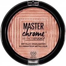 Maybelline Master Chrome Highlighter - 050 Molten Rose Gold - rozświetlacz