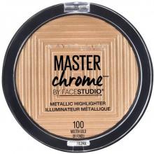 Maybelline Master Chrome Highlighter - 100 Molten Gold - rozświetlacz