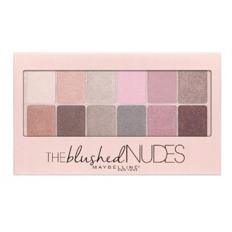 Maybelline-The-Blushed-Nudes-paleta-12-cieni-nude-drogeria-internetowa-puderek.com.pl