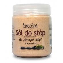 BingoSpa Borowinowa sól do zimnych stóp 550 g