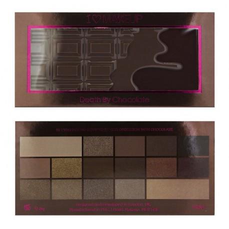 Makeup Revolution Death by Chocolate Paleta cieni do powiek