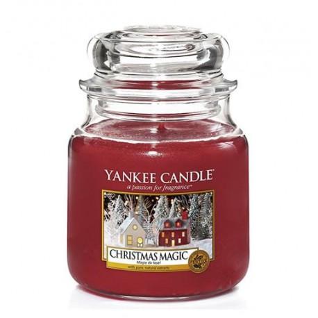 Yankee-Candle-Christmas-Magic-słoik-średni-świeca-zapachowa-drogeria-internetowa-puderek.com.pl