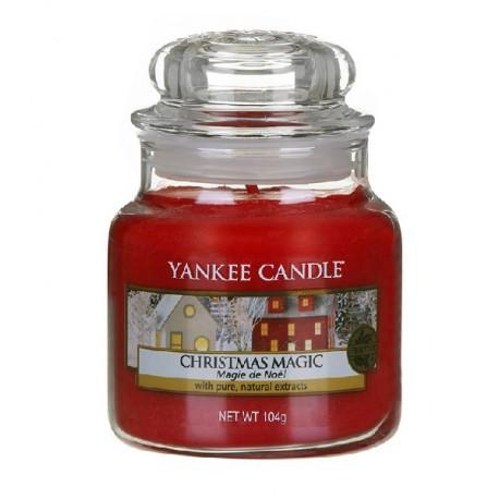 Yankee-Candle-Christmas-Magic-słoik-mały-świeca-zapachowa-drogeria-internetowa-puderek.com.pl