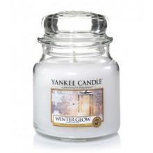 Yankee Candle Winter Glow słoik średni świeca zapachowa