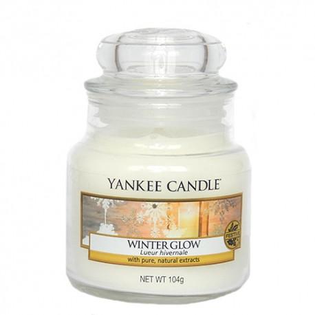 Yankee-Candle-Winter-Glow-słoik-mały-świeca-zapachowa-drogeria-internetowa-puderek.com.pl