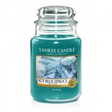 Yankee-Candle-Icy-Blue-Spruce-słoik-duży-świeca-zapachowa-drogeria-internetowa-puderek.com.pl
