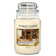 Yankee Candle Winter Wonder słoik duży świeca zapachowa