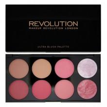 Makeup Revolution Sugar and Spice paleta 8 róży Ultra Blush Palette