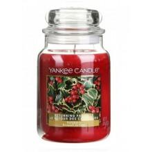 Yankee Candle Hollyberry słoik duży świeca zapachowa