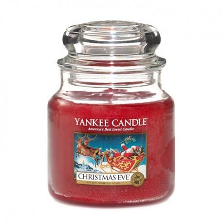 Yankee Candle Christmas Eve słoik średni świeca zapachowa
