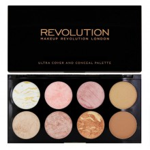 Makeup Revolution Golden Sugar paleta 8 róży Ultra Blush Palette