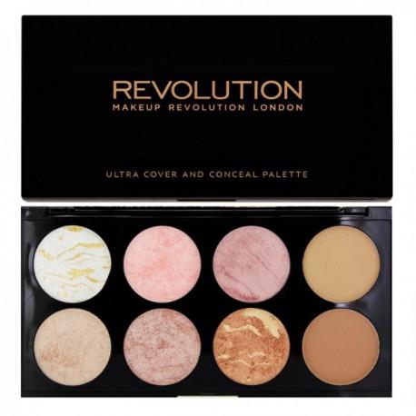 Makeup-Revolution-Golden-Sugar-paleta-8-róży-Ultra-Blush-Palette-drogeria-internetowa-puderek.com.pl