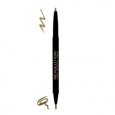 Makeup-Revolution-Brow-Dual-Ultra-Brow-Arch-Shape-Fair-dwustronna-kredka-do-brwi-drogeria-internetowa-puderek.com.pl