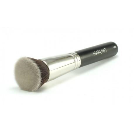 Hakuro-H51-pędzel-flat-top-do-podkładu-płynnego-i-mineralnego-pędzle-do-makijażu-sklep-z-kosmetykami-online-puderek.com.pl