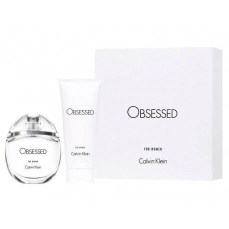 Calvin Klein Obsessed Woman - Zestaw Spray EDP 50 ml + balsam do ciała 100 ml
