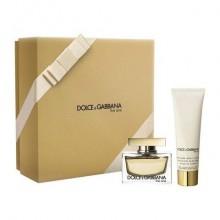 Dolce-&-Gabbana-The-One-Zestaw-Spray-EDP-30-ml-body-lotion-drogeria-internetowa-puderek.com.pl