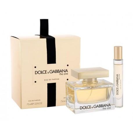 Dolce-&-Gabbana-The-One-Zestaw-Spray-EDP-75-ml-roll-on-drogeria-internetowa-puderek.com.pl