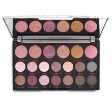 Makeup Revolution Jewel Collection Eyeshadow Palette - Opulent - paleta cieni do powiek