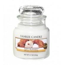 Yankee-Candle-Soft-Blanket-słoik-mały-świeca-zapachowa-drogeria-internetowa-puderek.com.pl