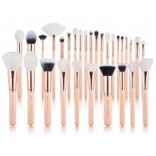 Jessup-Chrysalid-T440-Peach-Puff-Rose-Gold-zestaw-30-pędzli-do-makijażu-drogeria-internetowa-pędzle-do-makijażu-puderek.com.pl