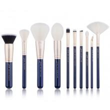 Jessup-Galaxy-T480-Prussian-Blue-Golden-Sands-zestaw-10-pędzli-do-makijażu-drogeria-internetowa-pędzle-do-makijażu-puderek.com.p