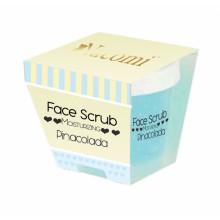 Nacomi Face Scrub Moisturizing Pinacolada - Nawilżający peeling do twarzy i ust