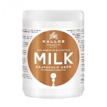 Kallos Milk maska mleczna do włosów proteiny mleczne 1000 ml