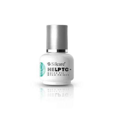 Silcare Help To Quick Fix Myco Primer - przeciwgrzybiczy primer bezkwasowy 15 ml