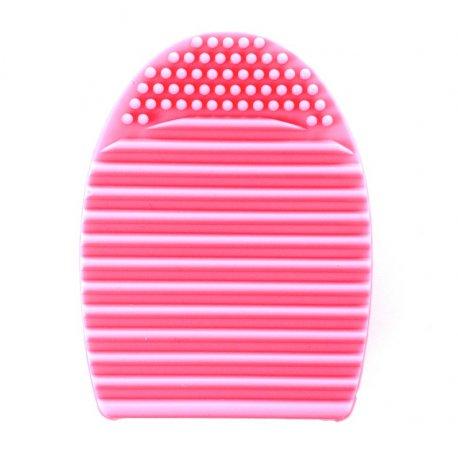 Brushegg silikonowa myjka do pędzli - różowa