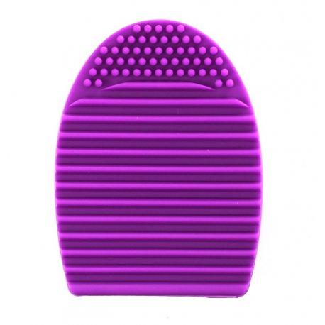 Brushegg silikonowa myjka do pędzli - fioletowy