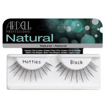 Ardell Natural Hotties Black sztuczne rzęsy pełne paski