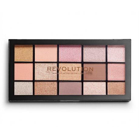 Makeup Revolution Reloaded - Fundamental - paleta 15 cieni do powiek