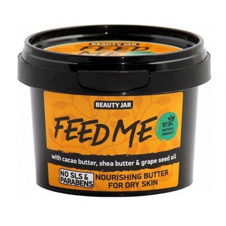 Beauty Jar Feed Me - odżywcze masło do skóry suchej 90 g