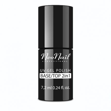 Neonail Base/Top 2w1 - baza i top hybrydowy 2w1 7,2 ml