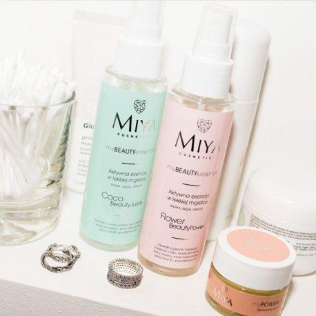 Miya Cosmetics myBEAUTYessence Flower BeautyPower - Aktywna esencja w lekkiej mgiełce 100 ml