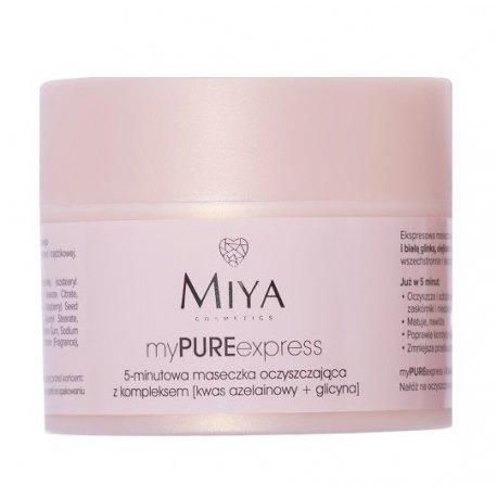Miya Cosmetics myPUREexpress - 5-minutowa maseczka oczyszczająca 50 g