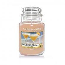 Yankee-Candle-Peaches-&-Cream-słoik-duży-świeca-zapachowa-drogeria-internetowa-puderek.com.pl