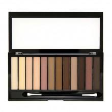Makeup-Revolution-Essential-Mattes-2-paleta-12-matowych-cieni-drogeria-internetowa-puderek.com.pl