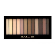 Makeup-Revolution-Essential-Mattes-2-paleta-12-matowych-cieni-cienie-do-powiek-drogeria-internetowa-puderek.com.pl